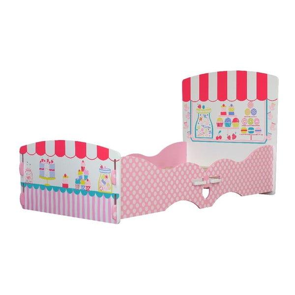 Dětská postel Patisserie, 140x70 cm