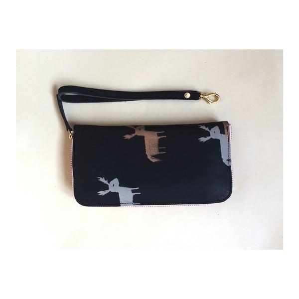 Peněženka Zip Black/Pink