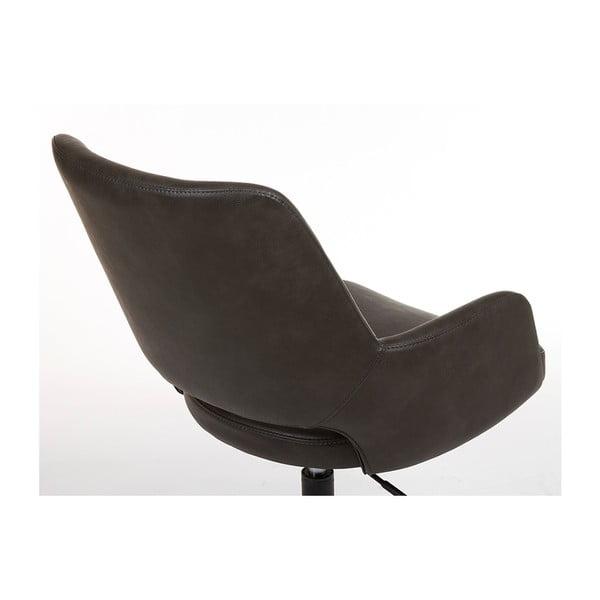 Šedá kancelářská židle s područkami Santiago Pons Avedis