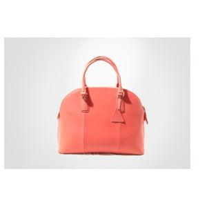 Kožená kabelka Mary, coral