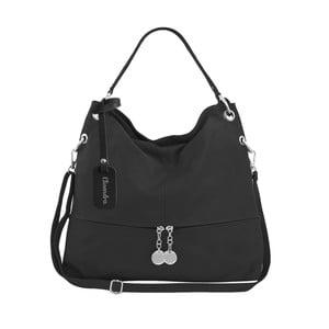 Černá kožená kabelka Maison Bag Evelyne