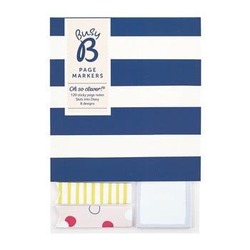 Set 3 blocuri etichete adezive Busy B Organised imagine