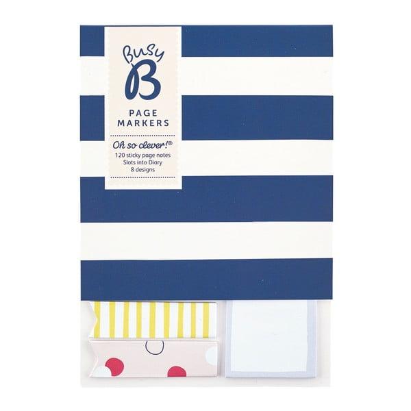 Komplet 3 bloczków karteczek samoprzylepnych Busy B Organised