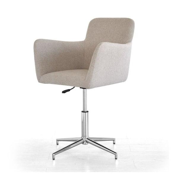 Posuvná židle Pan, béžová