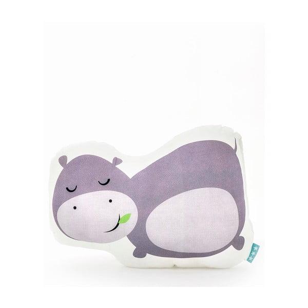 Bavlněný polštářek Mr. Fox Hippo 40x30cm