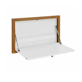 Masă de perete pliabilă Woodman Brenta, alb imagine