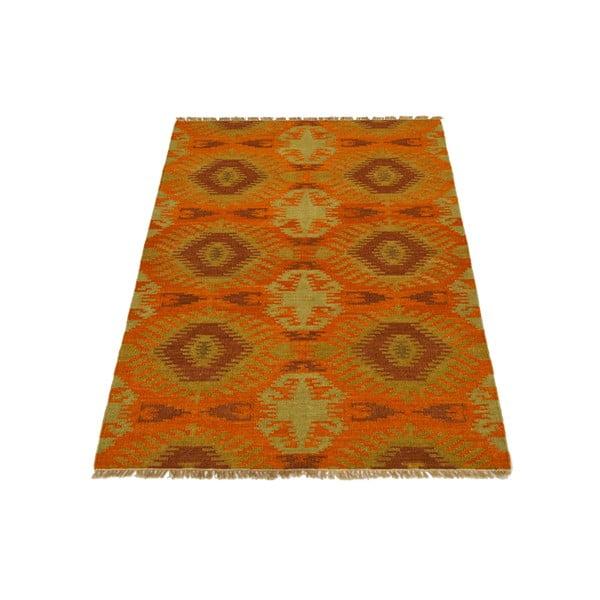 Ručně tkaný koberec Orange Eclectic Kilim, 130x185 cm