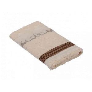 Hnědý bavlněný ručník Bella Maison Taraxacum,50x90cm