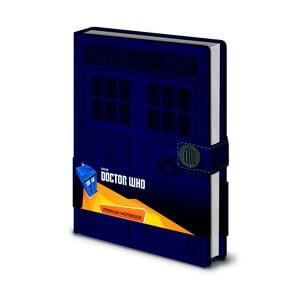 Zápisník A5 Pyramid International Doctor Who, 120 stran