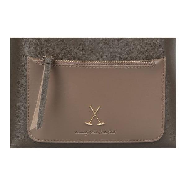 Šedohnědý batoh Beverly Hills Polo Club Fran