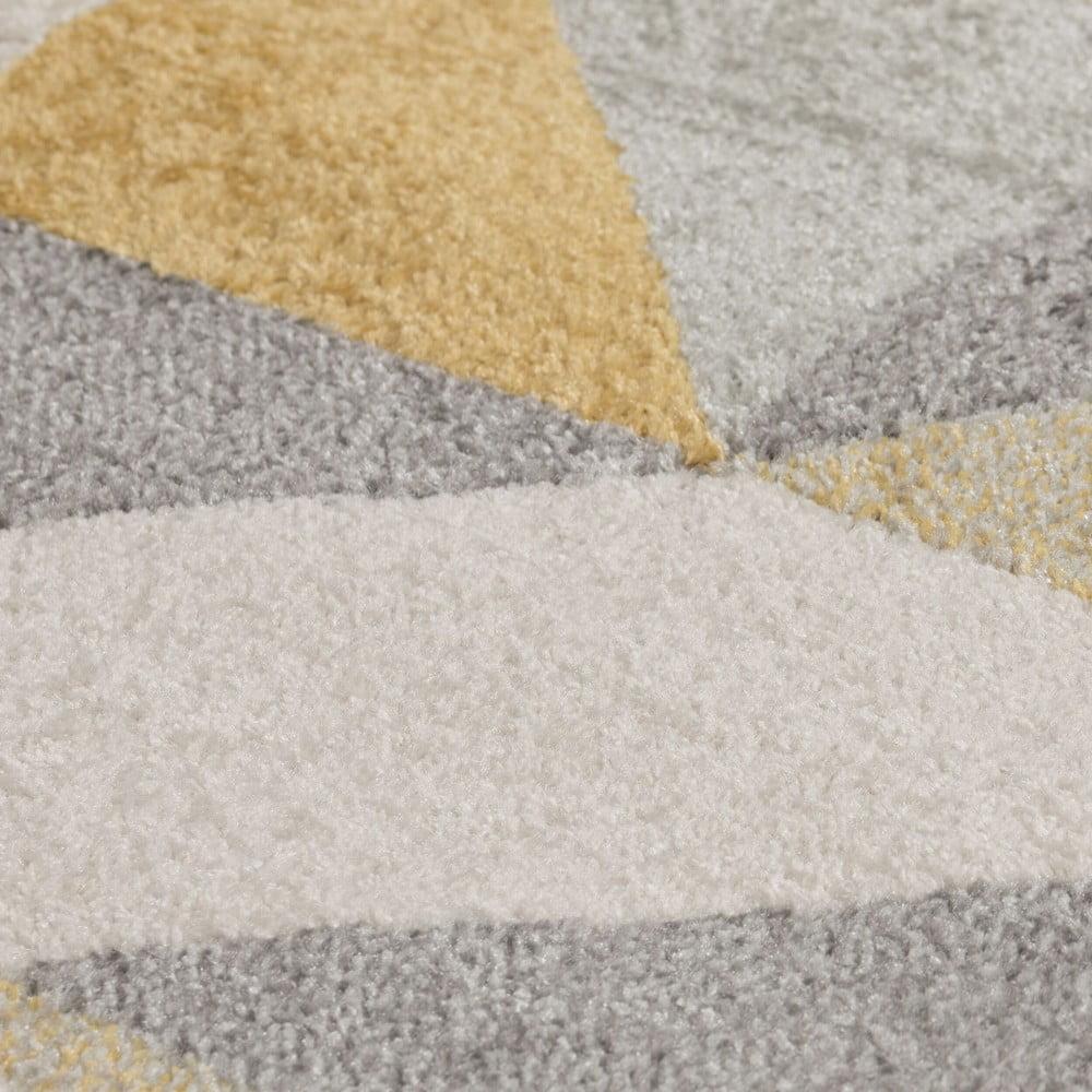 Produktové foto Šedožlutý koberec Flair Rugs Urban Triangle, 100 x 150 cm