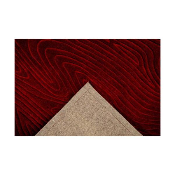 Ručně tkaný koberec Zen, 120x180 cm, červený