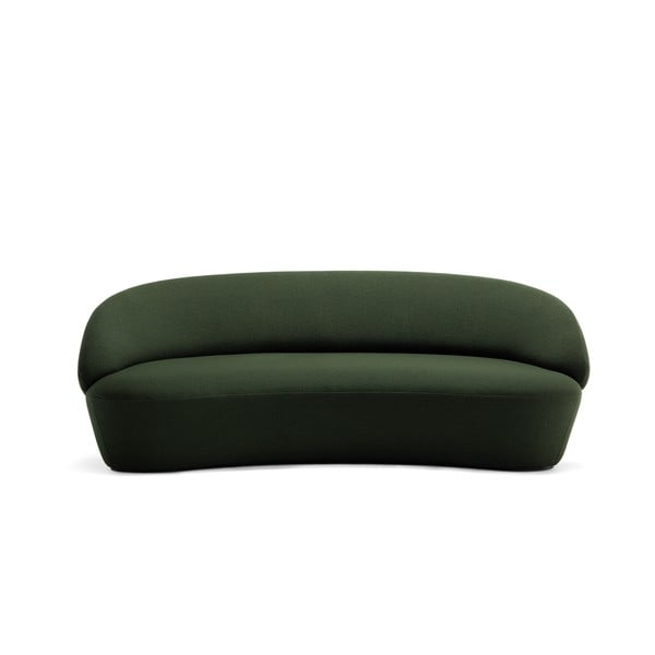 Zelená vlnená pohovka EMKO Naïve, 214 cm