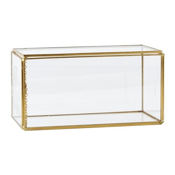 Úložný box KJ Collection Antique Brass, 10,5cm