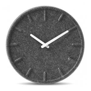 Nástěnné hodiny White Felt, 35 cm