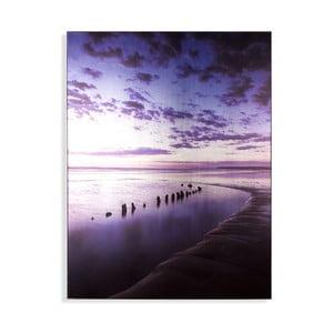Obraz Graham & Brown Metallic Serenity Shores, 60 x 80 cm