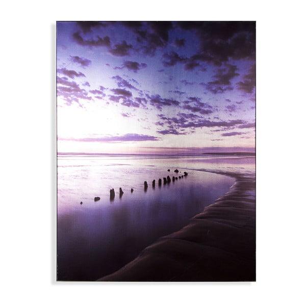 Obraz Graham & Brown Metallic Serenity Shores, 60×80 cm