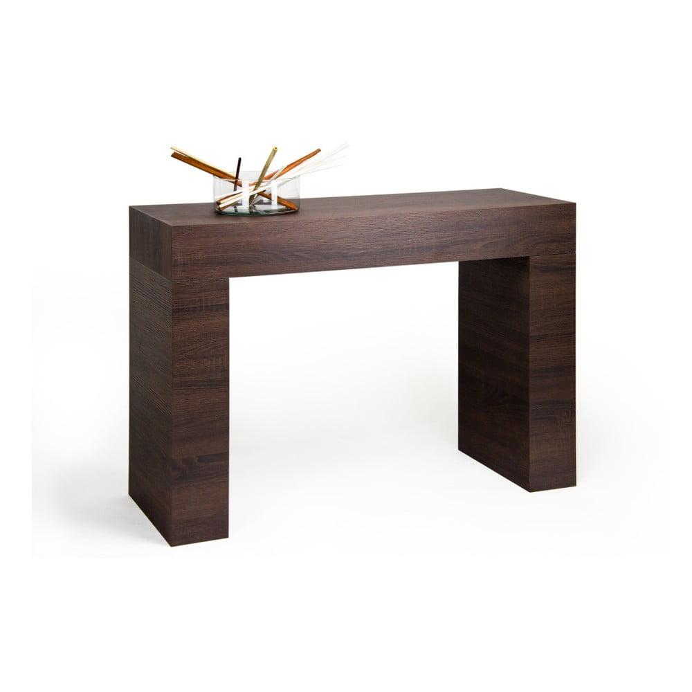 Konzolový stolek v dekoru tmavého dubu MobiliFiver Evolution