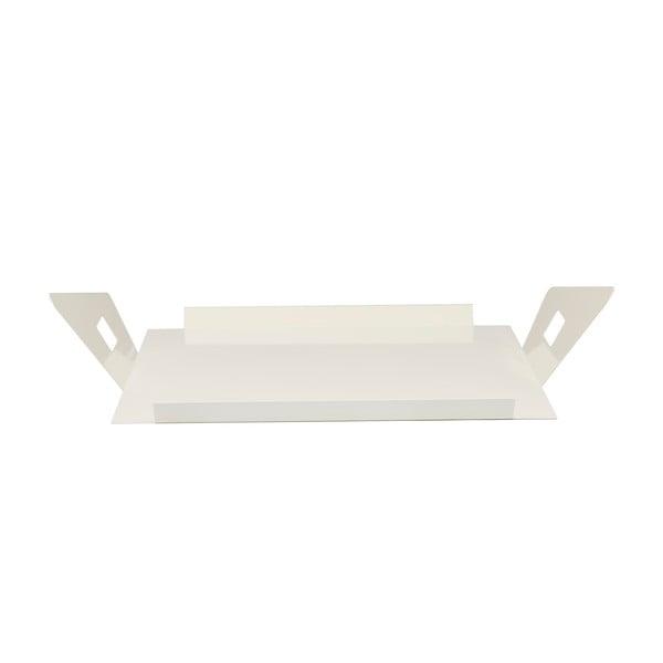 Kovový podnos Gie El 50x43 cm, bílý