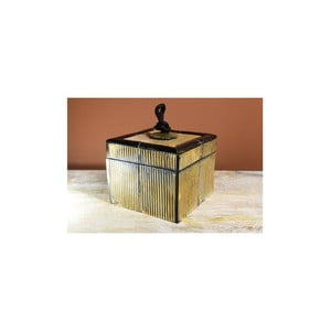Krabička s víkem z rohoviny Indie