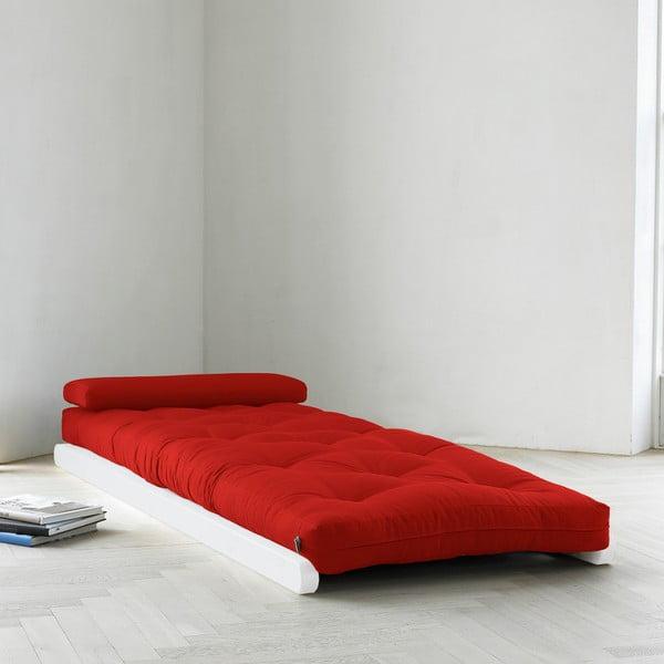 Lenoška Karup Figo, White/Red, 70 cm