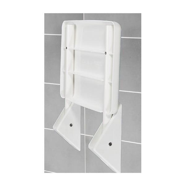 Skládací sedátko do sprchy Wenko Folding Seat, 36 x 35 cm