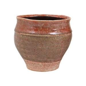 Růžový květináč z keramiky Strömshaga Nolhaga, Ø 20 cm