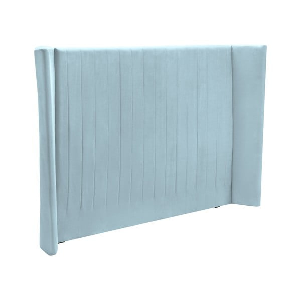 Pastelově modré čelo postele Cosmopolitan design Vegas, 180x120cm