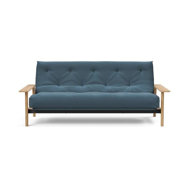 Modrá rozkládací pohovka Innovation Balder Elegant Elegance Petrol, 97x230cm