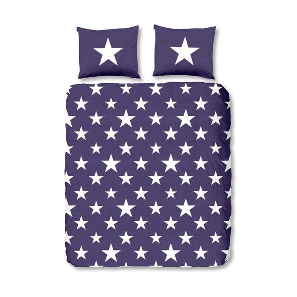 Povlečení Stars Purple, 140x200 cm