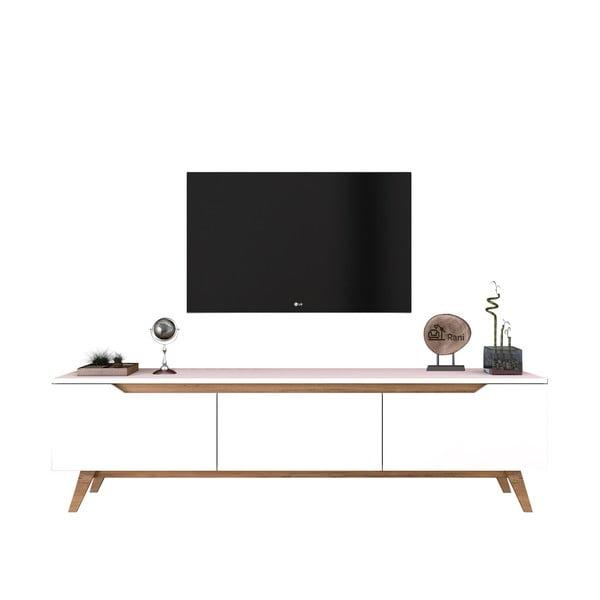 Bílý TV stolek Wren
