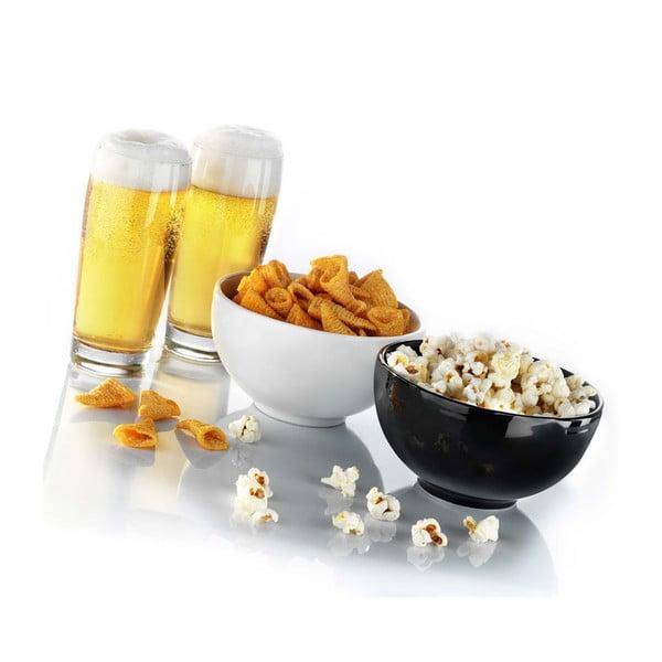 Pivní set dvou misek a dvou sklenic Beer Set