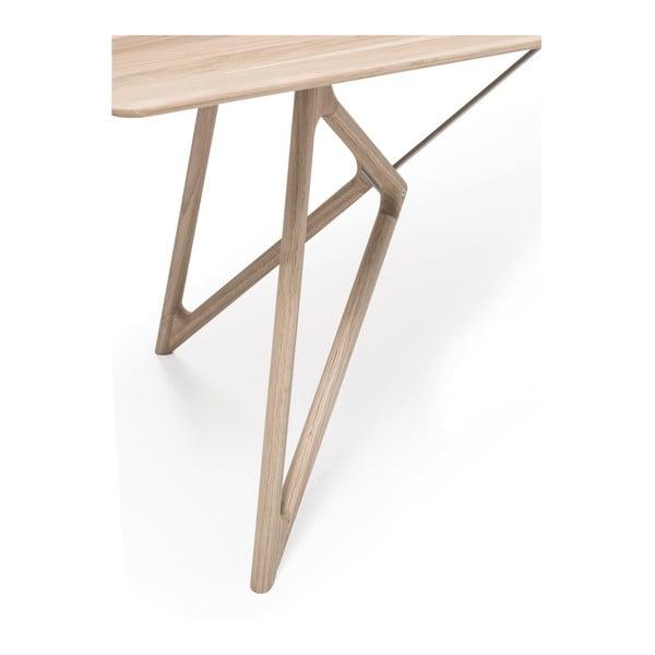 Dubový jídelní stůl Tink Oak Gazzda, 200cm, světlý přírodní
