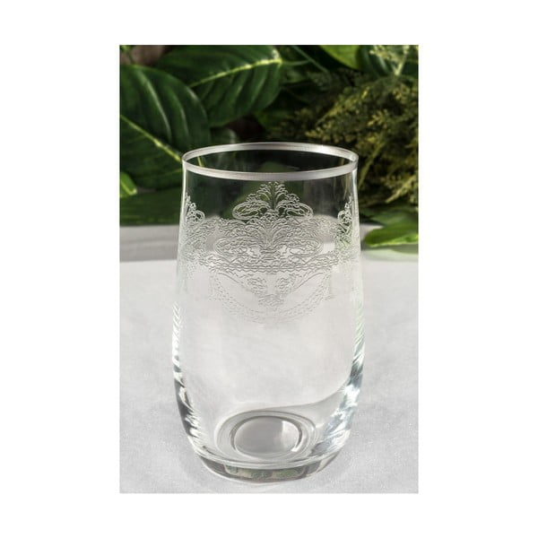 Sada 6 skleněných skleniček Malamati