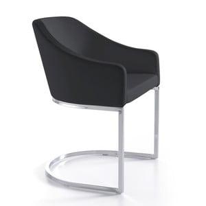 Černá jídelní židle Ángel Cerdá Juanita