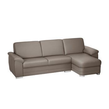 Canapea cu șezut pe partea dreaptă Florenzzi Bossi maro