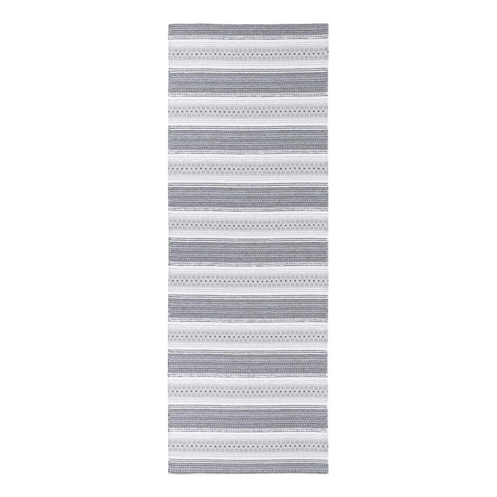 Šedý koberec vhodný do exteriéru Narma Runo, 70 x 100 cm