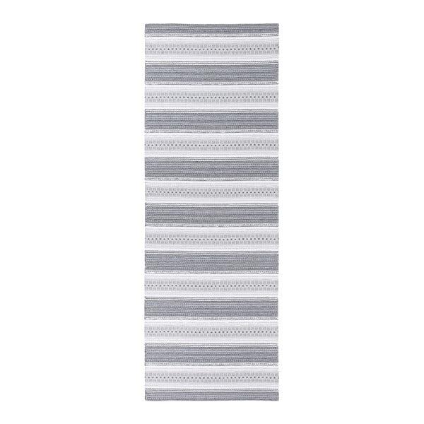 Runo szürke kültéri futószőnyeg, 70 x 350 cm - Narma
