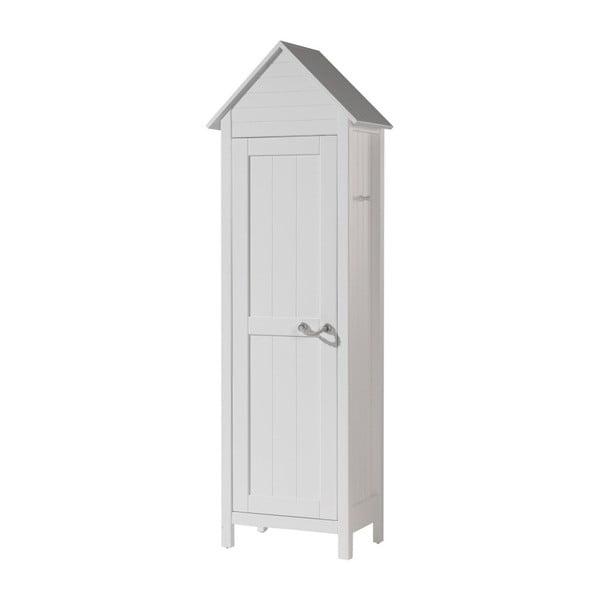 Biała szafa dziecięca Vipack Lewis, 190x40 cm