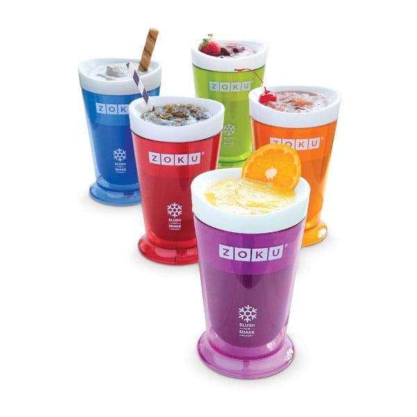 Zelený výrobník ledové tříště ZOKU Slush&Shake