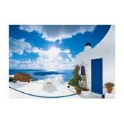 Tapet în format mare Santorini, 366x254 cm