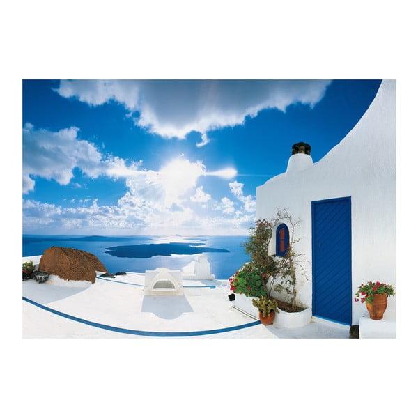 Velkoformátová tapeta Santorini, 366x254 cm