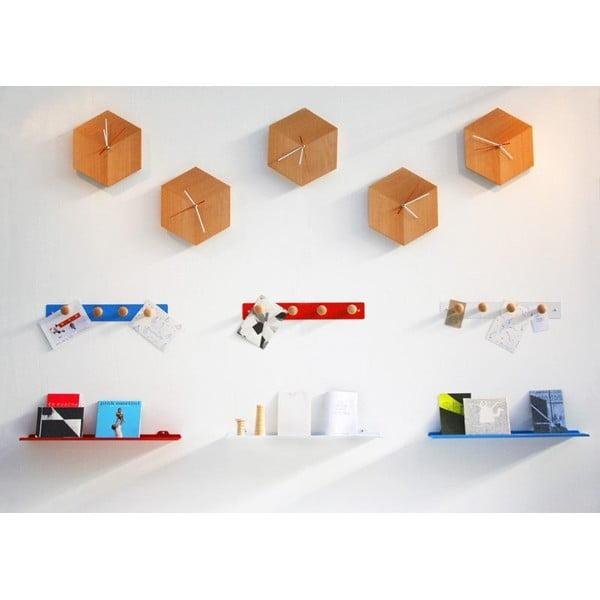 Nástěnná police Tab Shelf by Phil Procter, bílá