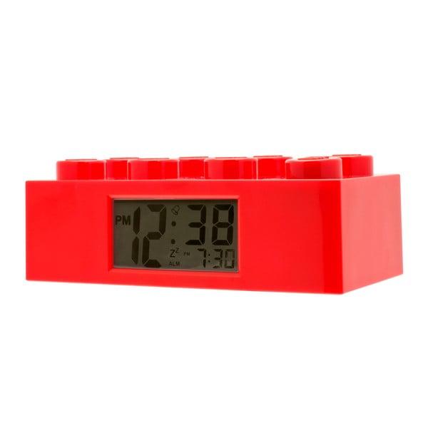 Czerwony zegar z budzikiem LEGO® Brick