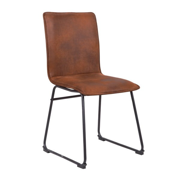 Hnědá židle Mauro Ferretti Metropolitan Easy