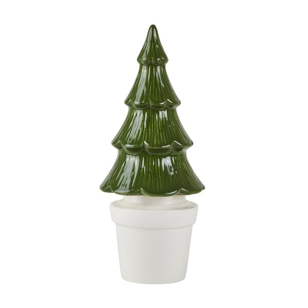 Decorațiune de Crăciun KJ Collection Tree, 27 cm, verde