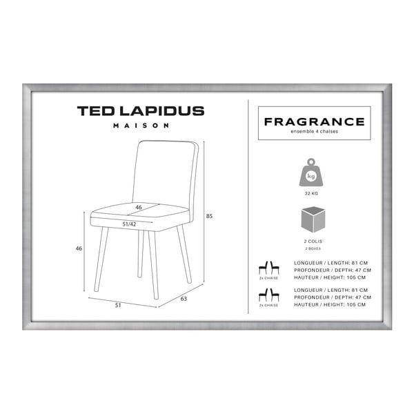 Set canapea taupe cu șezlong pe partea dreaptă, 4 scaune gri antracit și saltea 160 x 200 cm Home Essentials