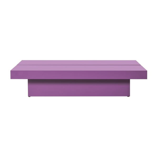 Konferenční stolek Myso Coffee, fialový