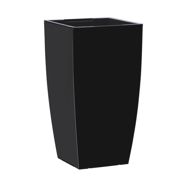 Vysoce odolný květináč Casa Brilliant 57x30 cm, černý