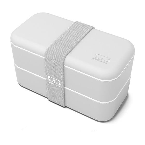 Šedý obědový box Monbento Original